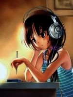 365349a26945c02e45f6487924ca03aa  music drawings manga anime girl